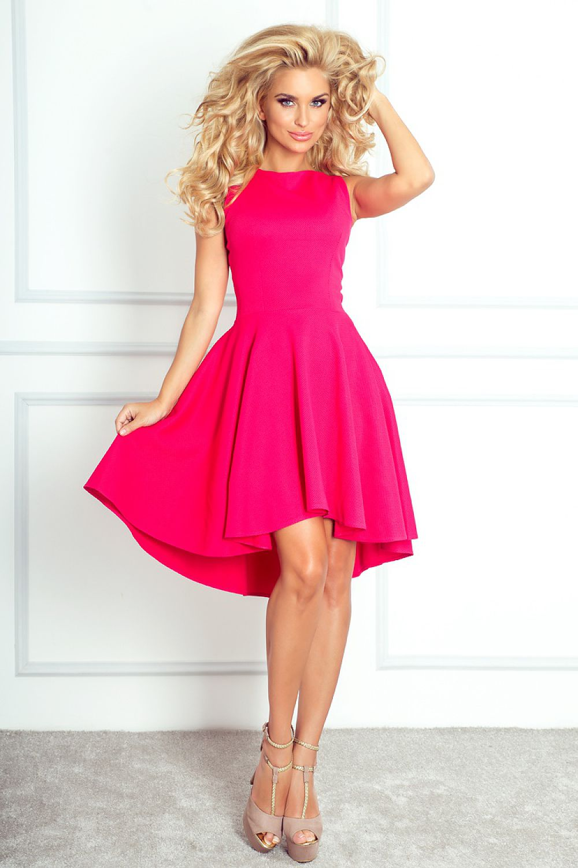 e530549707 Sukienka Model 66-3 Malina - Numoco Hurtownia odzieży on-line