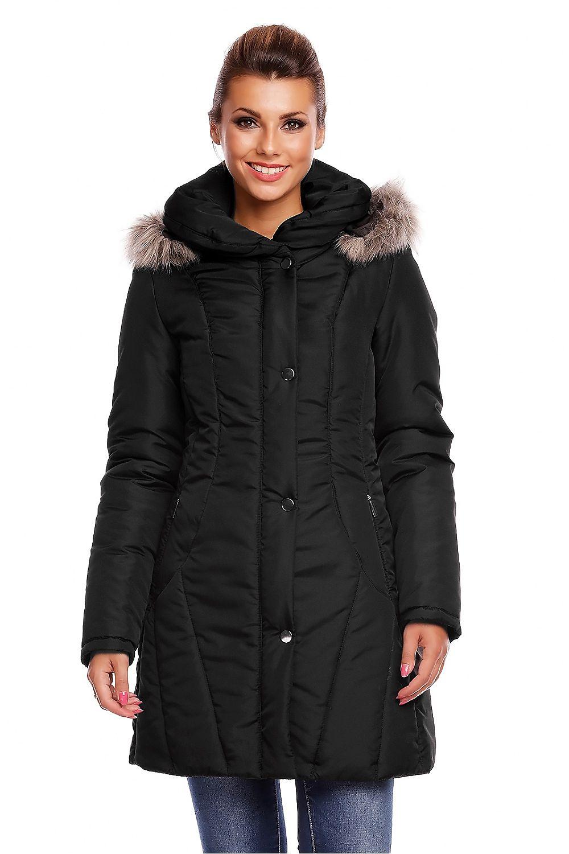 8cd6b73a Kurtka zimowa Cabba 02 DŁ Black - Cabba Hurtownia odzieży on-line, moda  damska, bielizna i obuwie dla kobiet - Matterhorn.pl