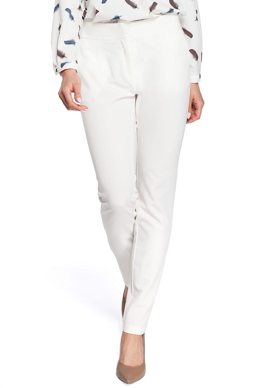 5ab76f1289 Spodnie damskie Model MOE303 Ecru - Moe Hurtownia odzieży on-line ...