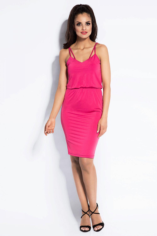 4777ab7275 Sukienka Model Miro Fuksja - Dursi Hurtownia odzieży on-line
