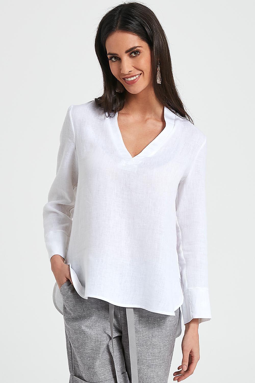 42fdea6e89 Bluzka Model 250005 White - Enny Hurtownia odzieży on-line
