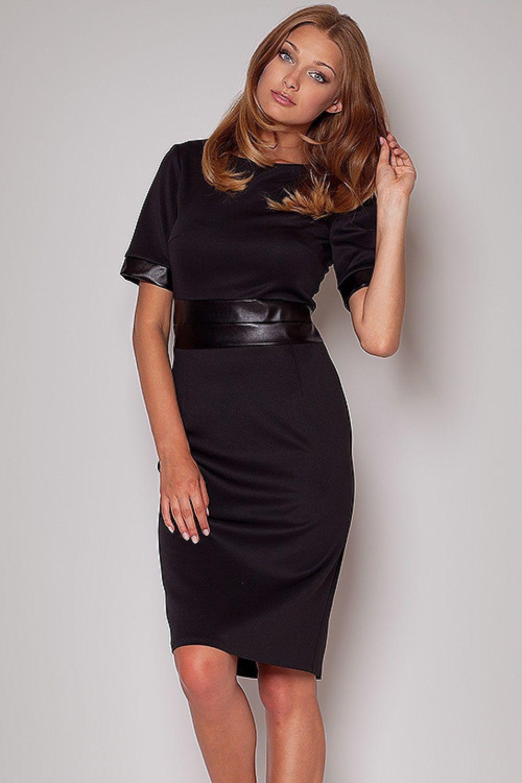 7faf9280b2 Sukienka Model 204 Black - Figl Hurtownia odzieży on-line
