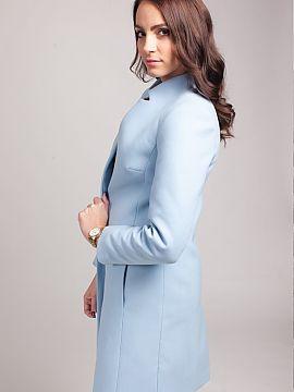 08f5a96886653 Kolor Niebieski Płaszcze damskie wiosenne Hurtownia odzieży on-line ...