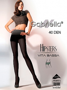 Rajstopy Hipsters code 115 40DEN (6 Colours) - G Gabriella