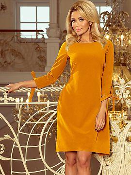 4609913f3a Kolor Żółty Sukienki wizytowe