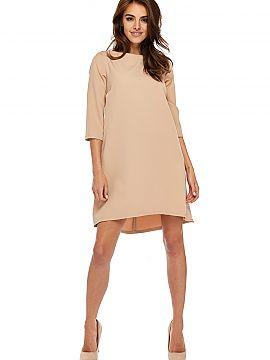 d6ccc13c6f Kolor Beżowy Sukienki wizytowe