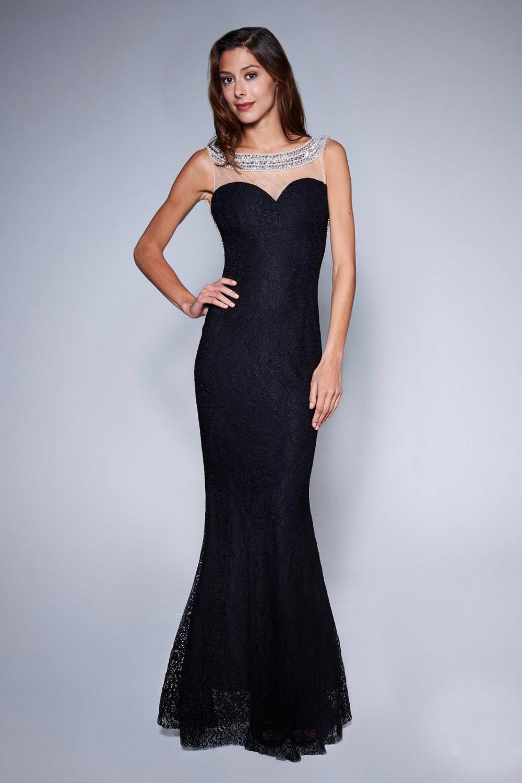 36a49c5e448a9e Sukienka Model 18133 Black - YourNewStyle 124677