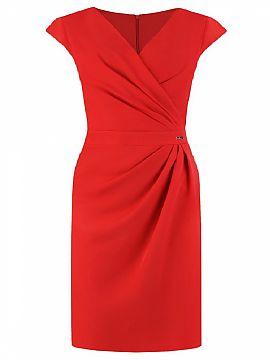 2d31ad1923 Sukienka Model Oktawia Red - Jersa Hurtownia odzieży on-line